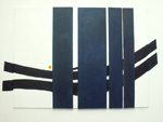 Roger Large, Bridge, (1), acrylic, 76x59.5cm, £975