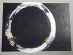Roger Large, Ring, (124), acrylic, 62x47cm, £650