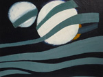 Roger Large, The Planets, (27), acrylic, 61x49cm, £875